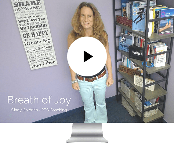 PTS Coaching - Cindy Goldrich - Video Breath of Joy